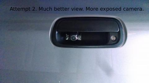 2006 Toyota Tundra Backup Camera Attempt 2
