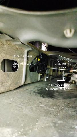 2006 Toyota Tundra Backup Camera Mouting Inside Tailgate